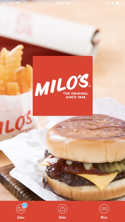 Milo's Hamburgers screenshot-0