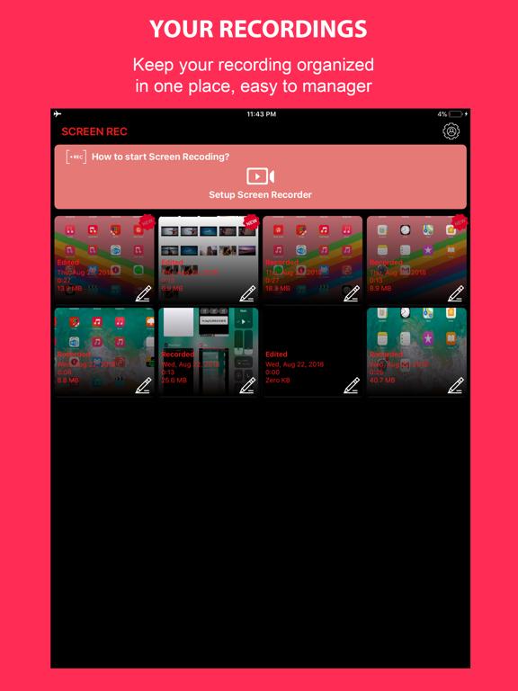 Rec. Screen Recorder screenshot