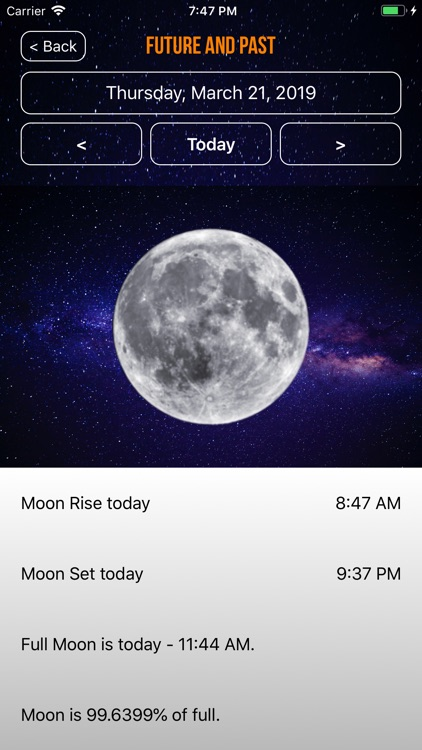 Moon Phase Calendar Plus screenshot-3