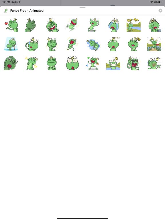 Fancy Frog - Animated screenshot 3