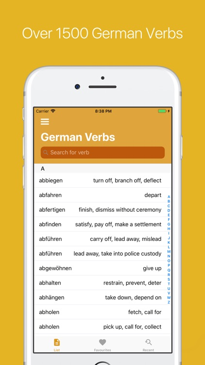 German Verb Conjugator screenshot-6