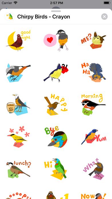 Chirpy Birds - Crayon screenshot 1