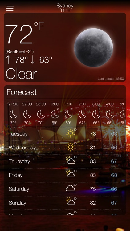 Weather +. screenshot-2