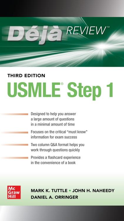 Deja Review USMLE Step 1, 3/E