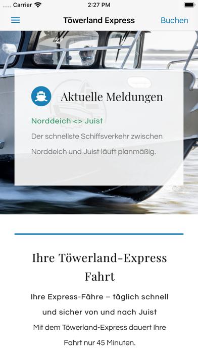 Töwerland Express screenshot 1