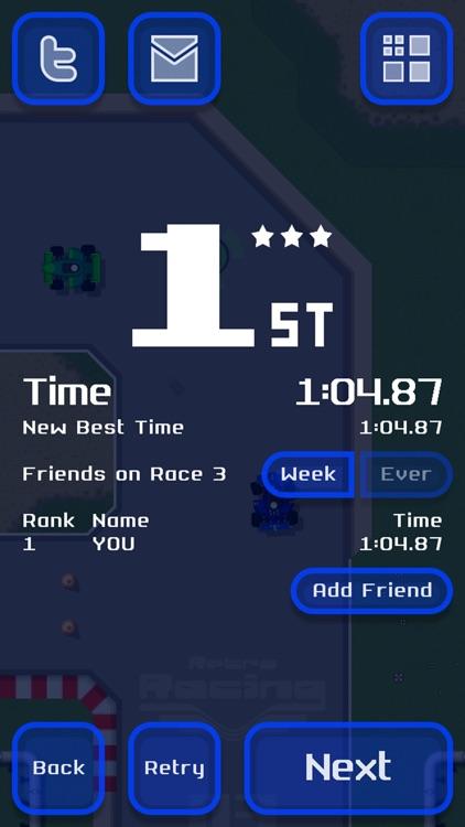 Retro Racing screenshot-4