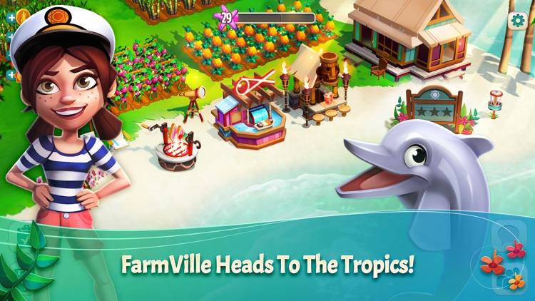 FarmVille: Tropic Escape screenshot-0