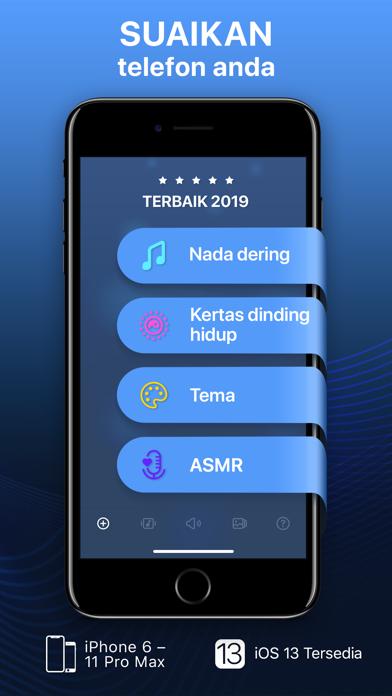 Screenshot for Nada dering & kertas dinding in Malaysia App Store