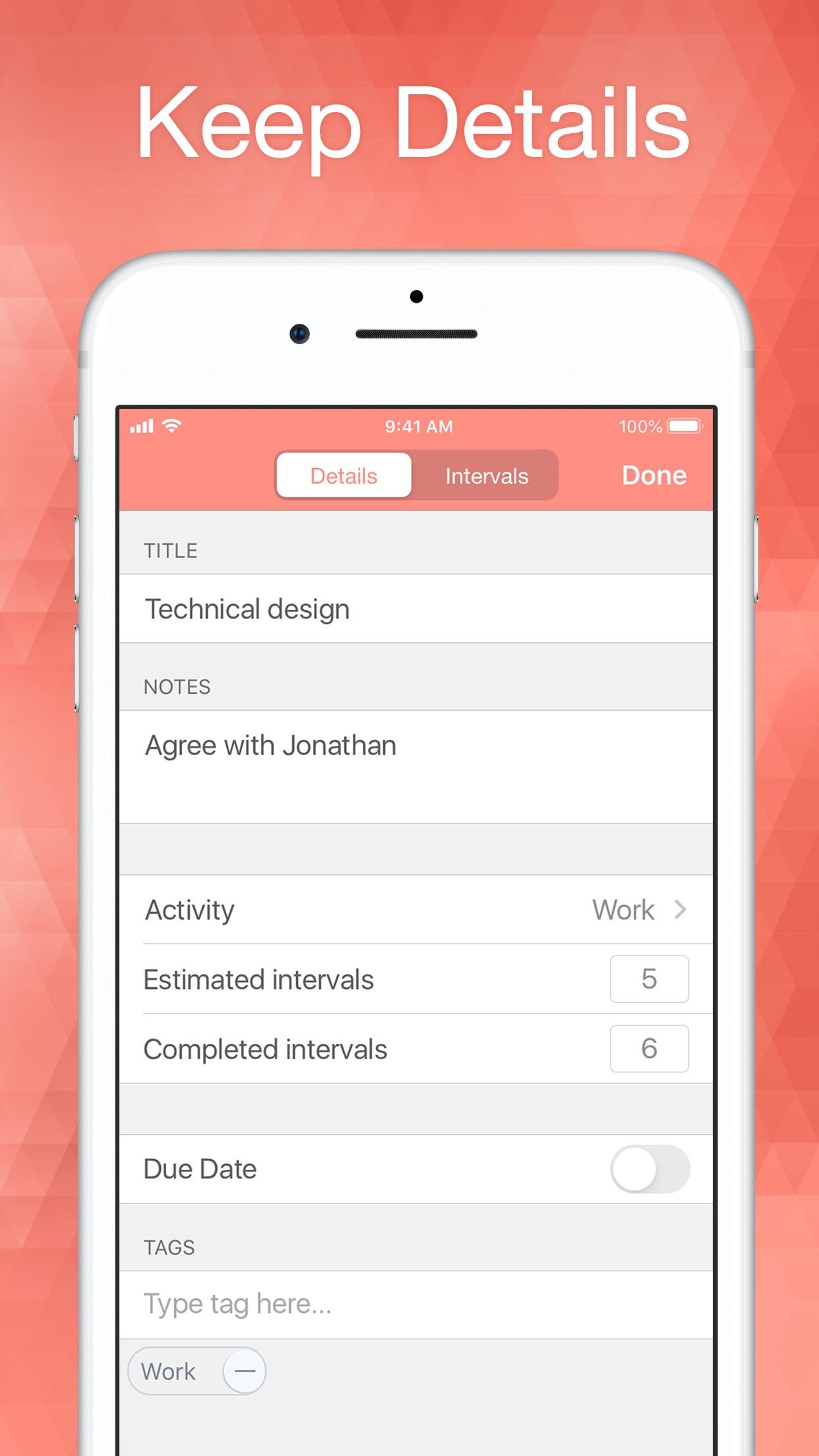 Screenshot do app Be Focused Pro - Focus Timer