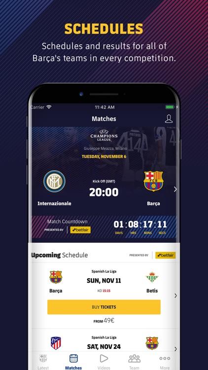 FC Barcelona Official App screenshot-6