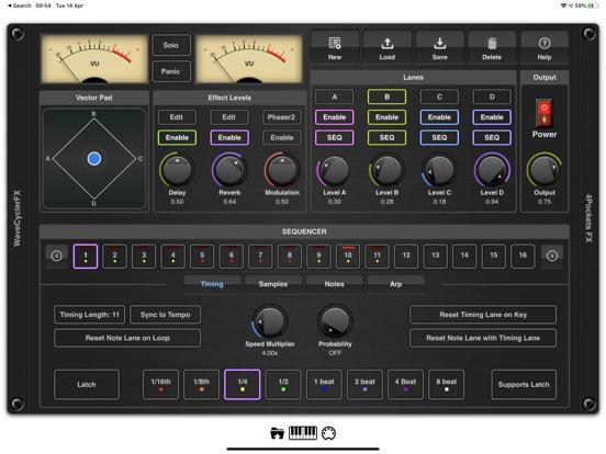 EvolverFX AUv3 Audio Plugin screenshot 9