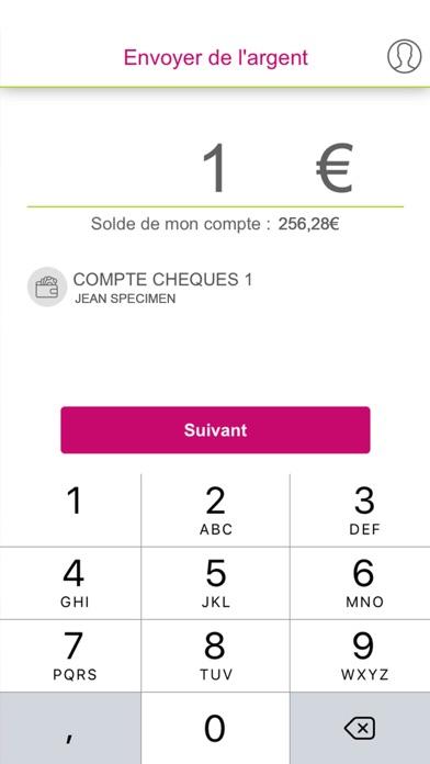CMMC Paiements Mobile screenshot two