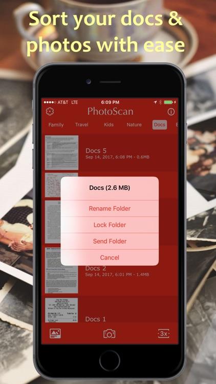 PhotoScan PDF Pro Scanner screenshot-4