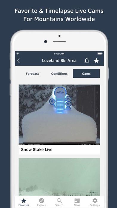 OpenSnow Screenshot