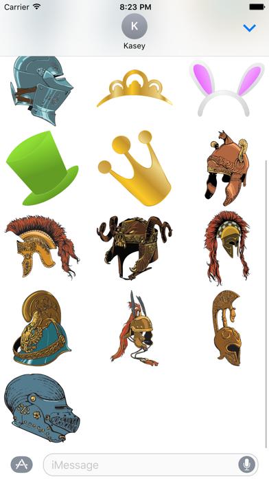 Hat Sticker Pack screenshot two