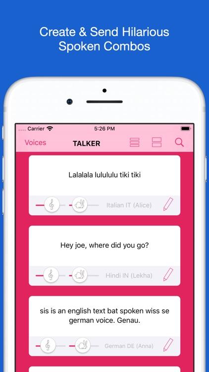 Talker - Text to Speech