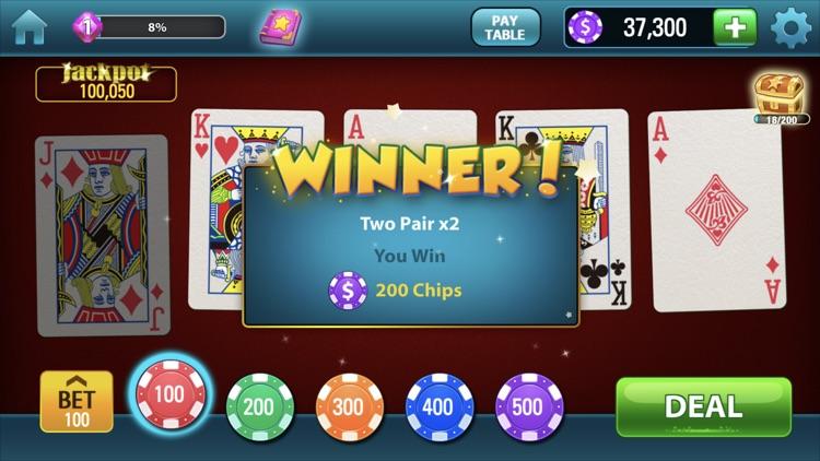 Video Poker!!! screenshot-0