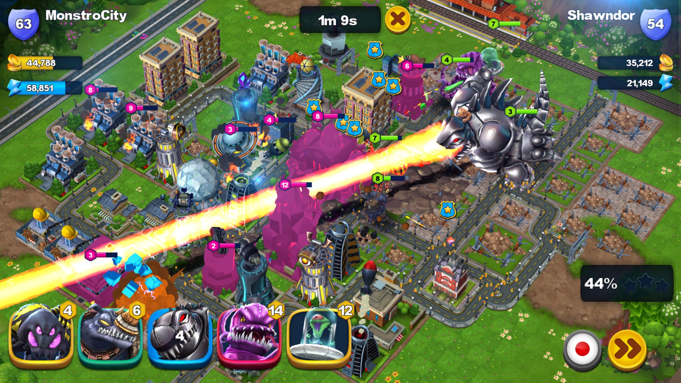 MonstroCity: Rampage Screenshot