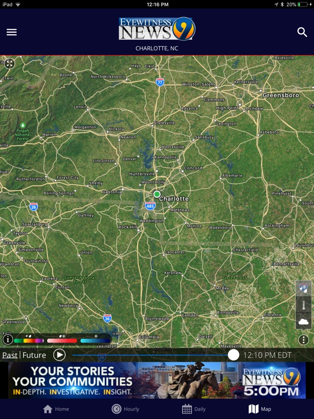 WSOC-TV Channel 9 Weather App on the App Store
