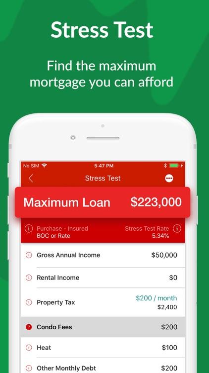 Canadian Mortgage App screenshot-6