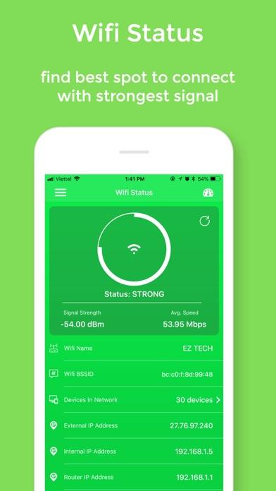 Wifi Status Pro - No Ads app image