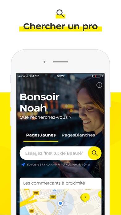 PagesJaunes - Recherche locale screenshot one