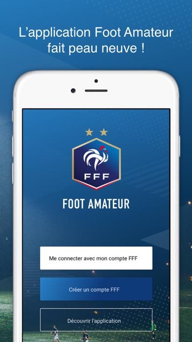 Screenshot #1 pour Application Le Foot Amateur