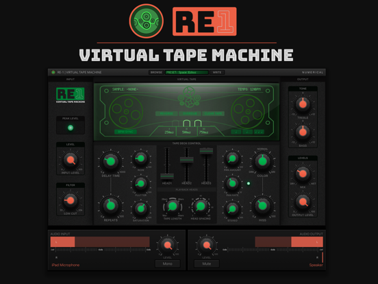 RE-1 Tape Machine