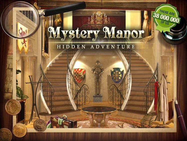 Mystery Manor HD screenshot-0