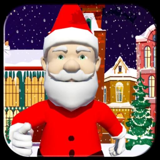 Christmas Santa Subway Run