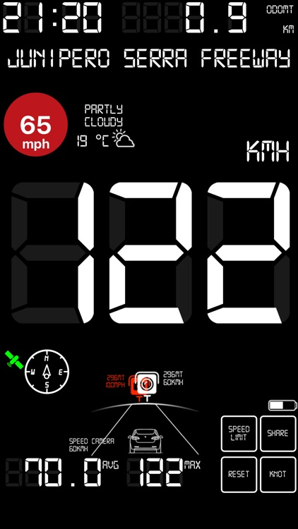 Speedmeter mph digital display screenshot-9