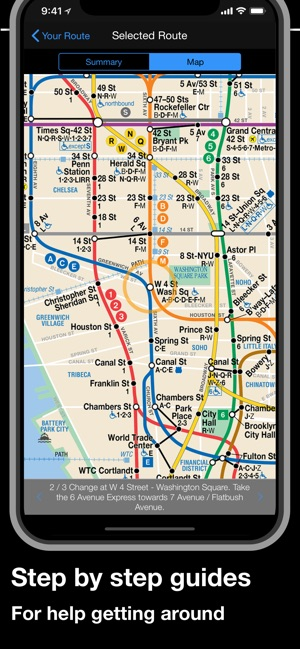 Bajar Subway Map De Ny.New York Subway Mta Map On The App Store