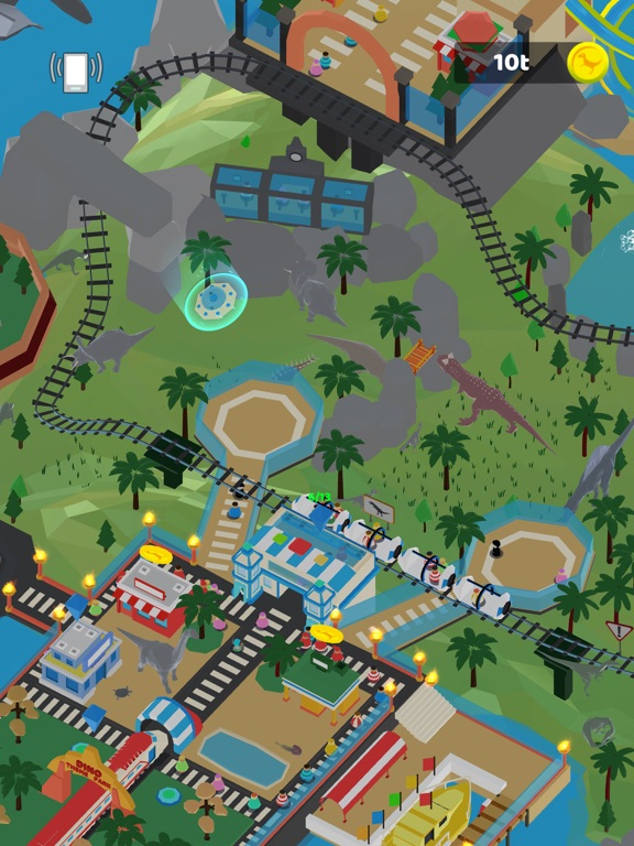 Idle Dino Theme Park screenshot 10