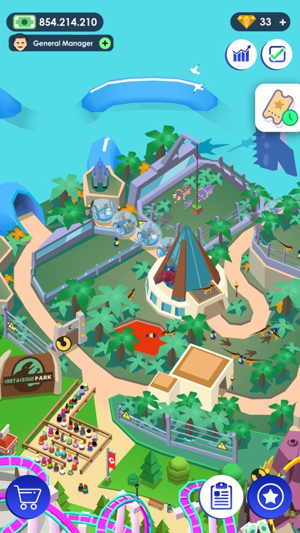Idle Theme Park - Tycoon Game screenshot-5