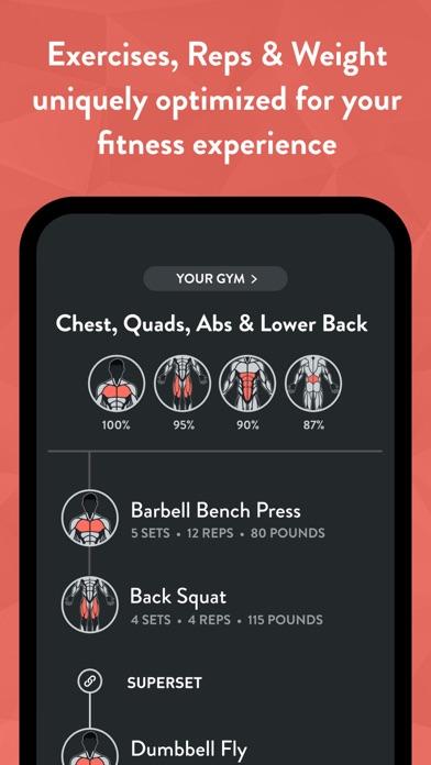 Fitbod Workout & Fitness Plans Screenshot