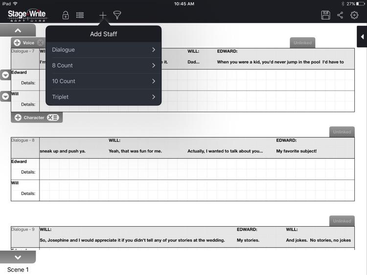 StageWrite for iPad screenshot-4