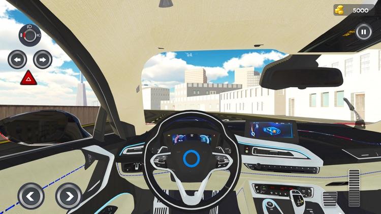 Modern City Traffic Car Drive screenshot-4