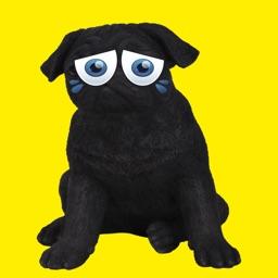 stickers memes del perrito