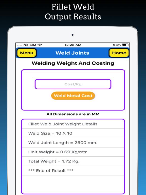 Welding Weight Calculator Pro screenshot 12