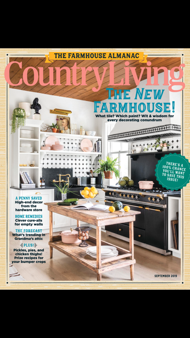 Country Living Magazine US Screenshot