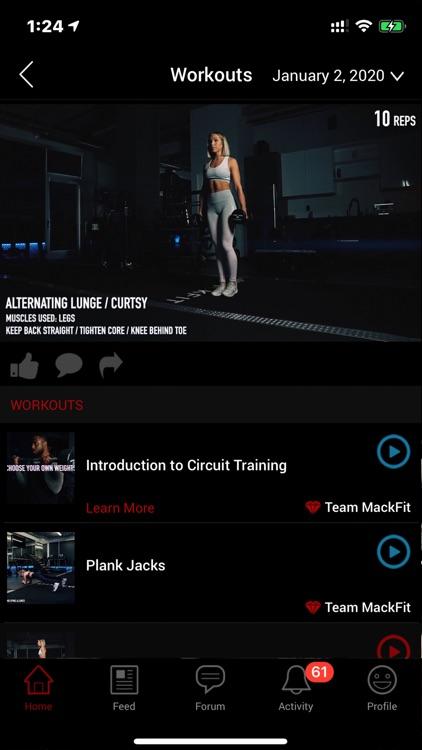 MackFit screenshot-4