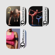 3D4Medical's Muscle & Fitness for iPad