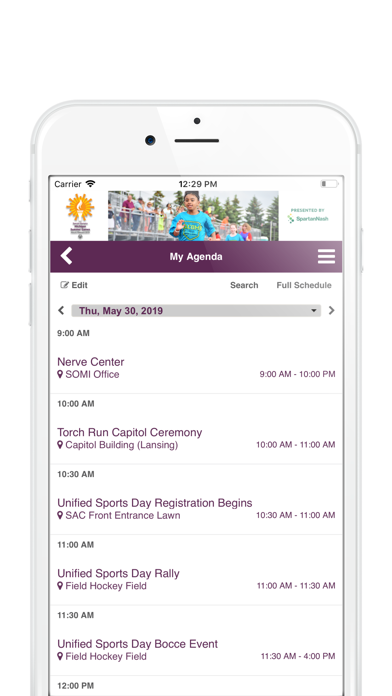 Special Olympics Michigan app image