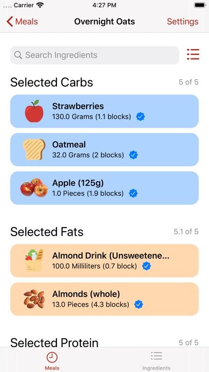 Zone Meal Planner screenshot-5