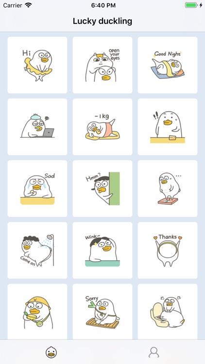 Lucky duckling