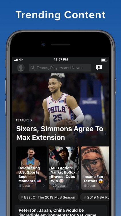 theScore: Sports News & Scores screenshot-9