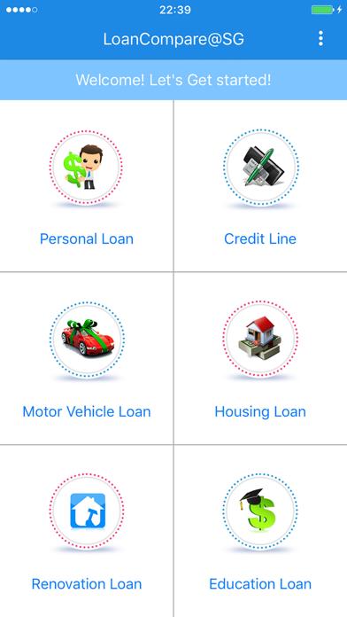 LoanCompareSG screenshot one