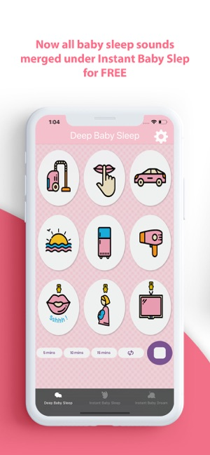 Instant Baby Sleep White Noise on the App Store