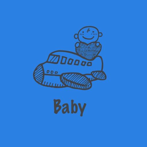 Baby hand drawn 300+ stickers