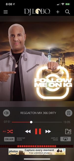 DJ Lobo on the App Store